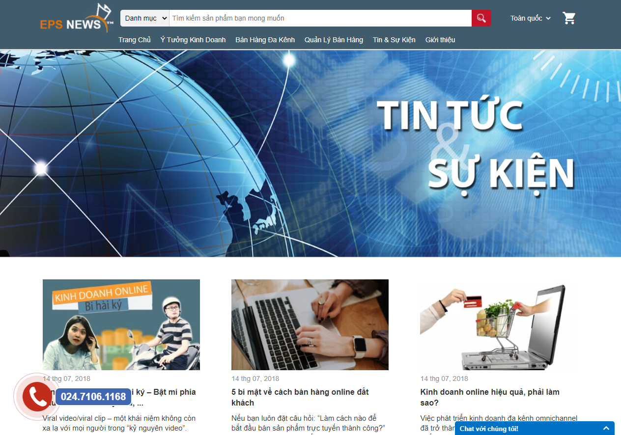[NEWS003] Website tin tức